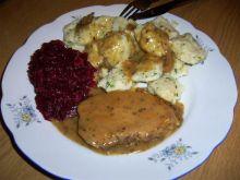 Schab obiadowy w pysznym sosie