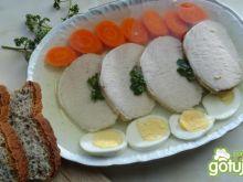 Schab w galarecie z jajkiem