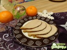 Schab w glazurze z miodu, chrzanu i ziół