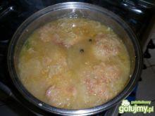 Schab w nietypowym sosie cebulowym