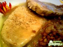 Schab w sosie musztardowo-pieprzowym