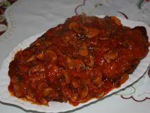Schab w sosie pikantnym