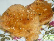 Schab w sosie z przyprawą bruschetta