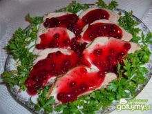 Schab w sosie żurawinowo-porzeczkowym