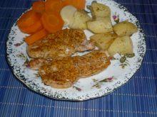 Schab z parowaru w słodkiej papryce i curry