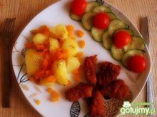 Schabiki z warzywami