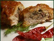 Schabowe faszerowane mięsem mielonym