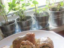 schabowe roladki ze szpinakiem i serem