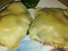 Schabowe z pieczarkami i serem