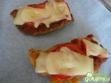 Schabowe zapiekane z pomidorem i serem