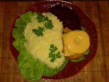 Schaby z ananasem i serem tostowym