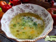 Selerowo ogórkowa zupka domowa
