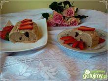 Semifreddo choco z wanilią i orzechami