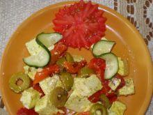 Ser biały w oliwie z oliwkami