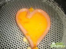 Serce nadziewane żóltkami :)
