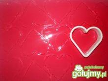 Serce z galaretki