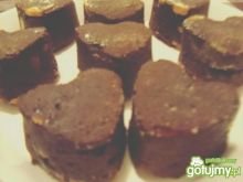 Serduszka-brownies