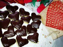 Serduszka makowe w czekoladzie