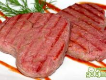 Serduszkowe burgery wołowe