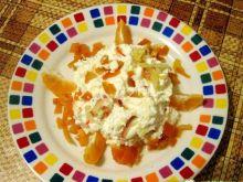 Serek pomarańczowo-jabłkowy