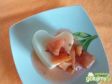 Serniczki z laurowymi brzoskwiniami