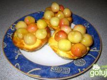 Serniczki z owocami