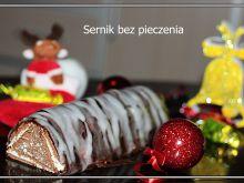 Sernik bez pieczenia - idealny na Boże Narodzenie