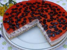 Sernik borówkowo-jogurtowy