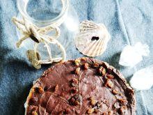 Sernik cytrynowy z polewą czekoladową