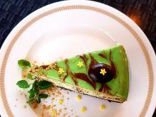 Sernik czekoladowo - miętowy