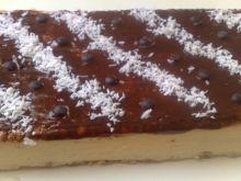 Sernik gotowany na herbatnikach wielozbożowych