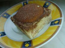 Sernik gotowany na herbatnikach z cappuccino