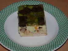 Sernik gotowany z cukierkami