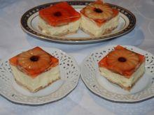 Sernik gotowany z galaretką