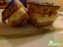 sernik gotowany z miodową nutą