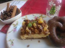 Sernik gotowany  z piernikami
