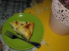 Sernik jabłkowo - żurawinowy na ciasteczkach oreo