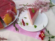 Sernik jagodowy bez pieczenia