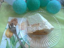 Sernik jogurtowy miętowo-kokosowy