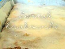 Sernik krakowski z kratką