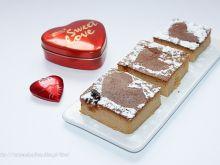 Sernik krówkowo-czekoladowy