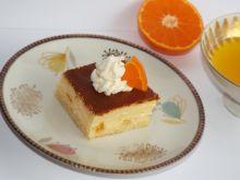 Sernik lekko pomarańczowy