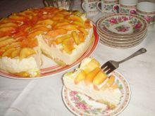 Sernik na zimno z papają