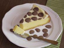 Sernik nowojorski z nutą czekolady