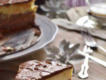 Sernik potrójnie czekoladowy na zimno