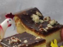 Sernik  świąteczny oblany czekoladą