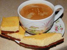 Sernik waniliowy na herbatnikach