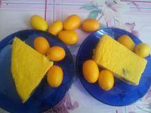 Sernik z batatem rodzynkami i kumkwatem