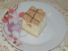 Sernik z brzoskwiniami i kokosem
