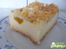 Sernik z brzoskwiniami wg pioge7